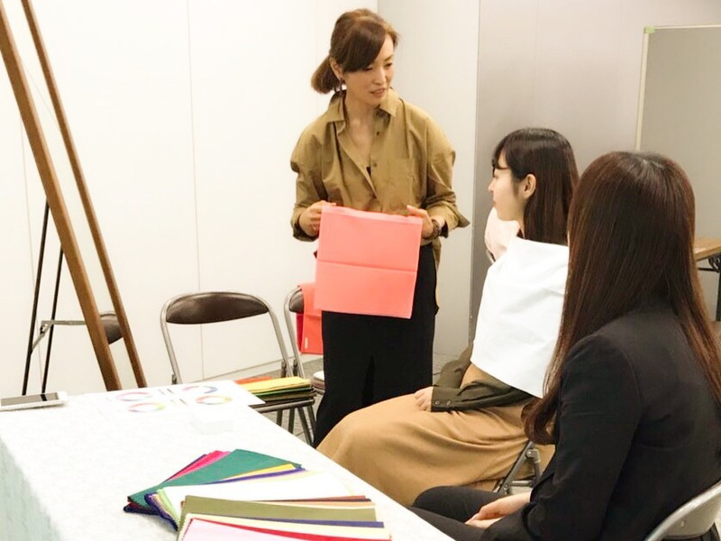 現役デザイナーがアドバイス♡パーソナルカラー診断スタイリング講座の画像