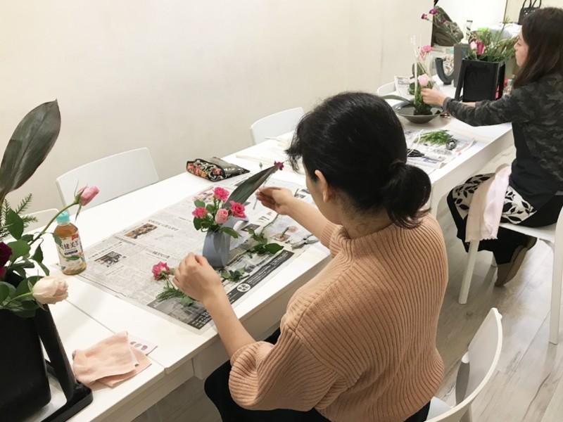 お花を持ち帰られる!はじめての和文化「生け花」体験をしてみませんかの画像