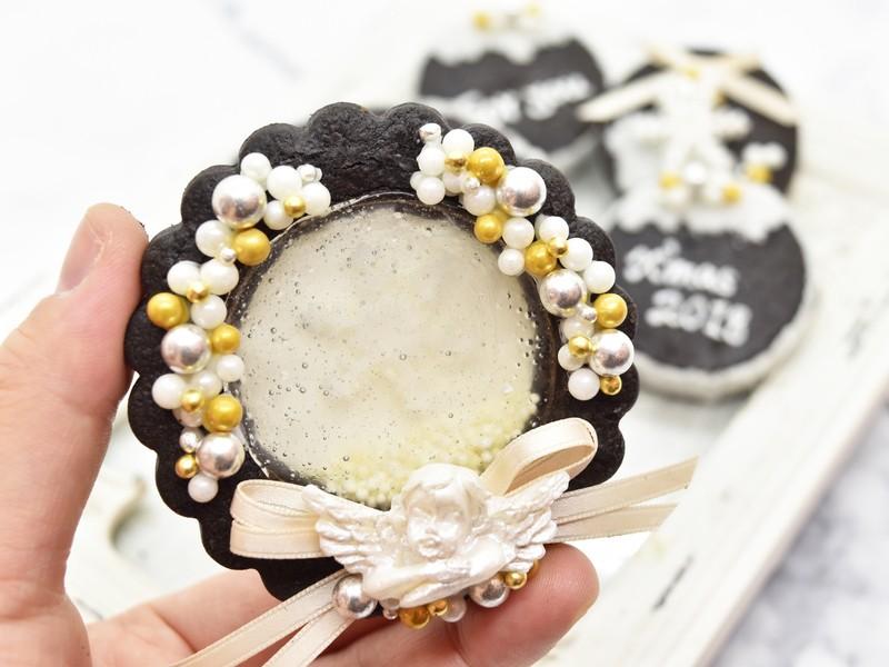 大人かわいいクリスマスクッキーBOXを作りましょう☆の画像