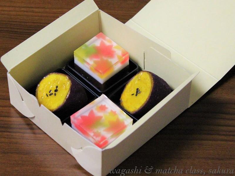 【和菓子作り】深まる秋の和菓子2種を作ってみよう~の画像