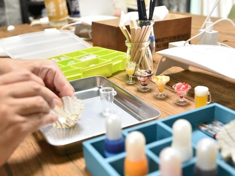 ミニチュア(1/6サイズ)食品サンプル製作の画像