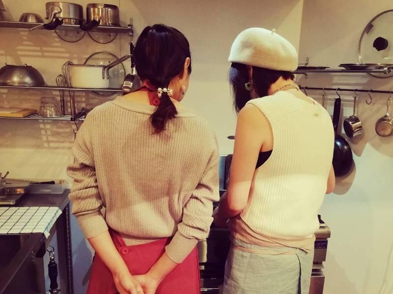 <パーティメニュー上級編>彩色美しい野菜のテリーヌに挑戦の画像