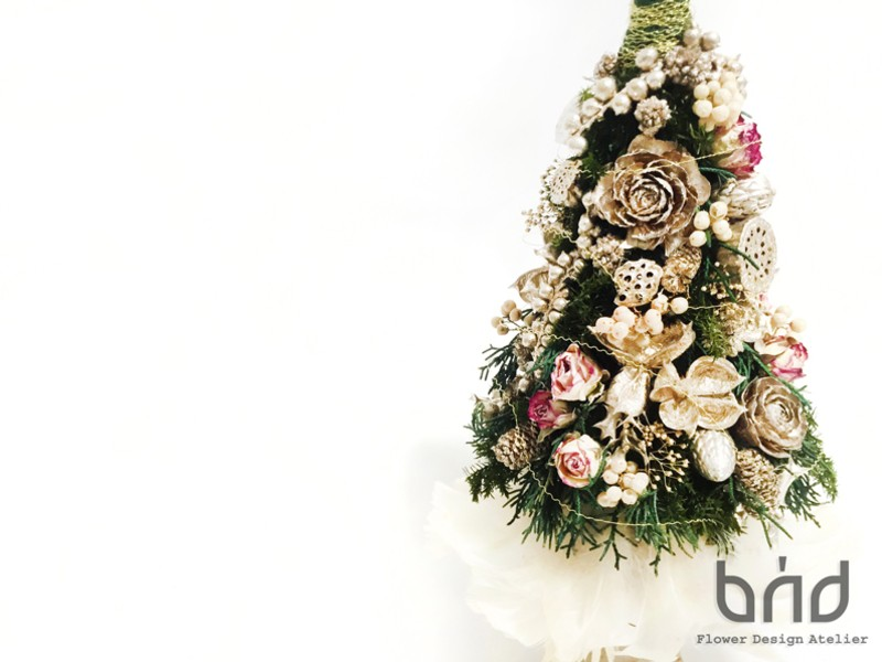 【BUDクリスマスレッスン】ドリーミーXmasツリーの画像