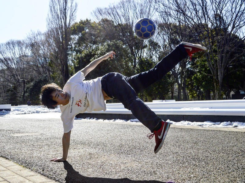 【未経験初心者歓迎】女性に人気のフリースタイルフットボール体験会!の画像