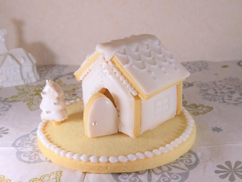 クリスマスに!ヘクセンハウス(お菓子のおうち)アイシング教室の画像