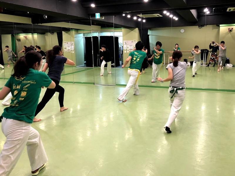体験カポエイラ 赤坂教室の画像