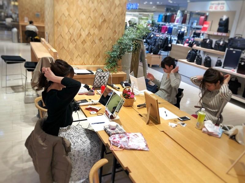 【博多マルイ開催】🔰自分で出来るヘアアレンジ講座《初心者向け》の画像