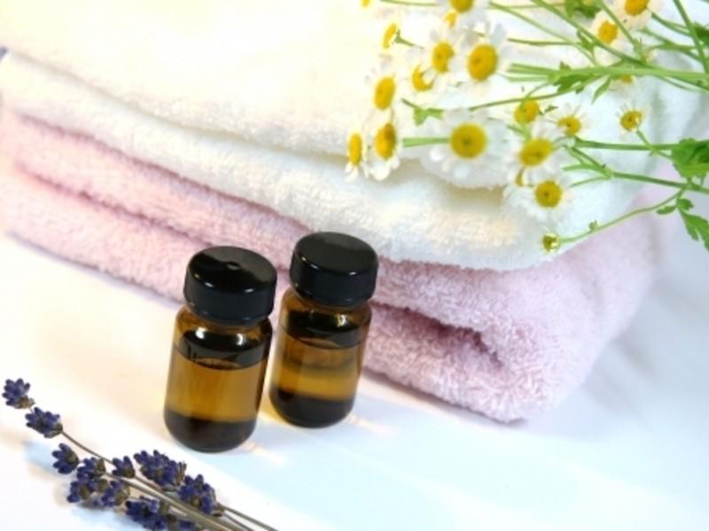 アロマの香りの石鹸作りの画像