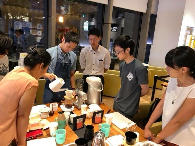 ハンドドリップワークショップ~コーヒー豆の精製方法の違いを学ぶ~の画像
