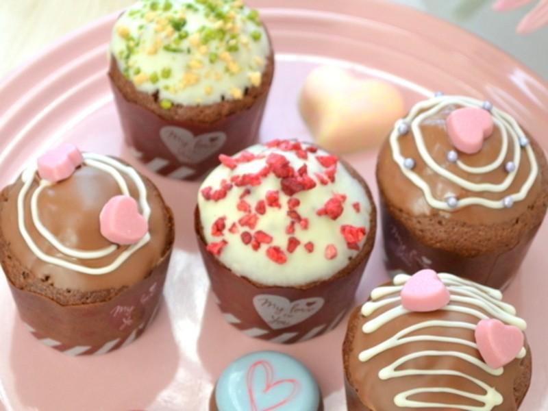 バレンタイン直前!グルテンフリーのチョコマフィンレッスンの画像