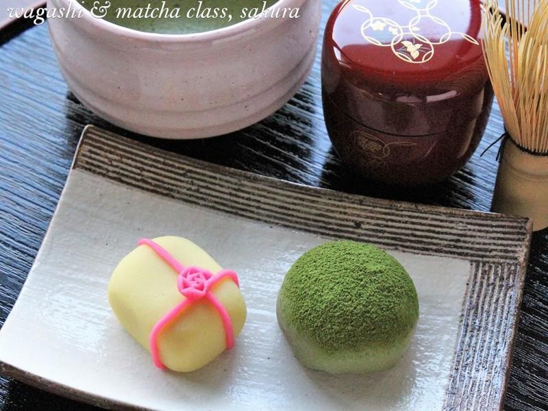 【和菓子】チョコ大福2種と練り切りの贈り物を作ってみましょう♪の画像