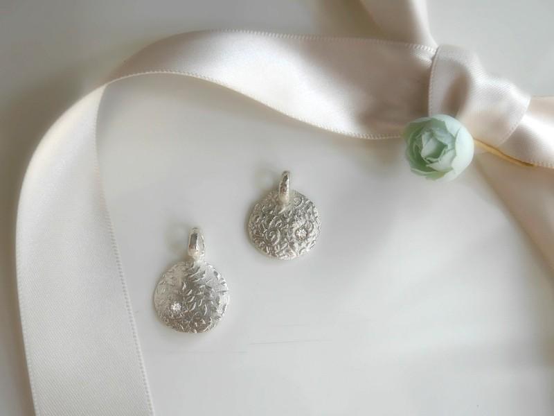 2Days 銀粘土で作るスワロのリング&テクスチャーペンダントの画像