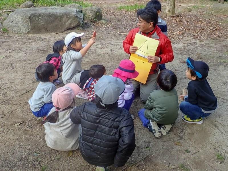 幼児〜小学校低学年向け「野外で算数」の画像