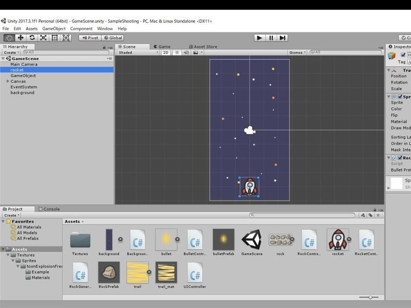 Unityを使ってゲームを作ってみよう!の画像