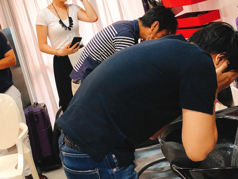 """美容師じゃない""""普通の男性""""の為の「ワックスの付け方トレーニング」の画像"""