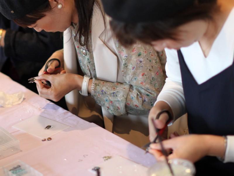 【大阪・阿倍野】ガラスカボションアクセサリーを作りませんか?の画像