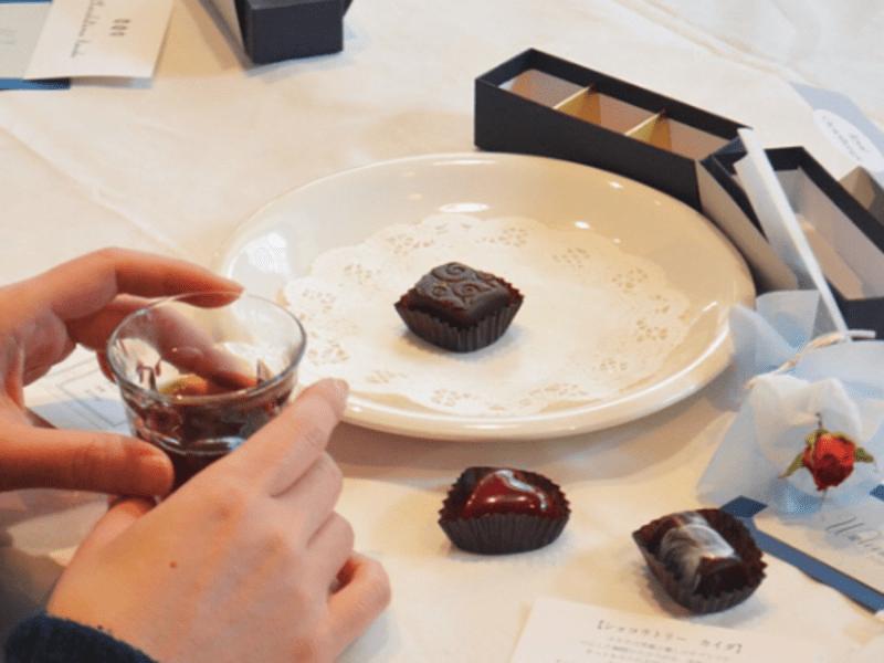 満席【茶室×珈琲】茶室で味わう珈琲とチョコのフードペアリングの画像