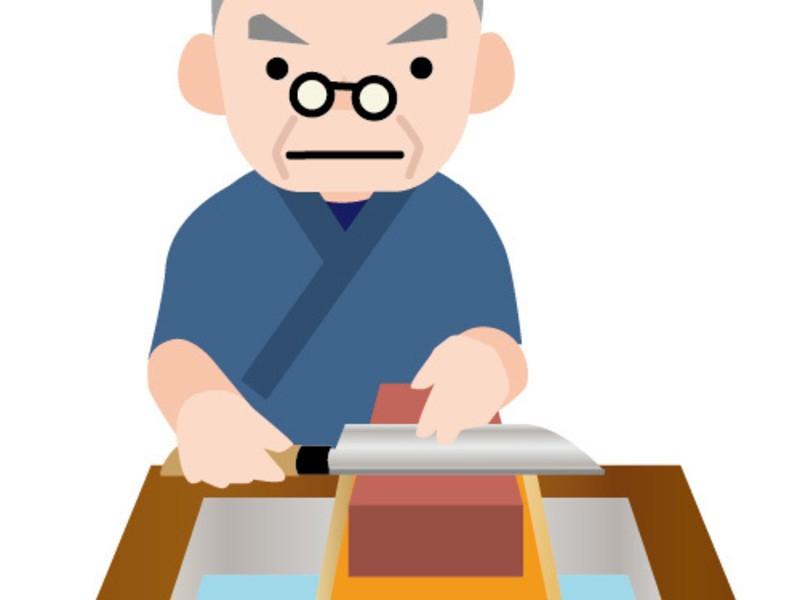 ◆包丁研ぎ講座 砥石表面は平らに、水分を枯らさず、研ぎ汁は流さないの画像