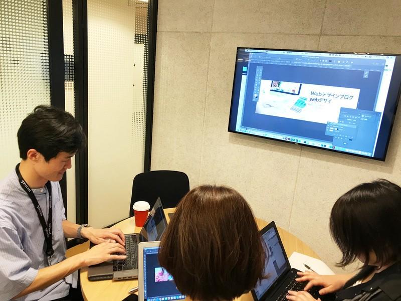 デザイナー入門講座。月収20万を目指すバナーLP制作ワークショップの画像