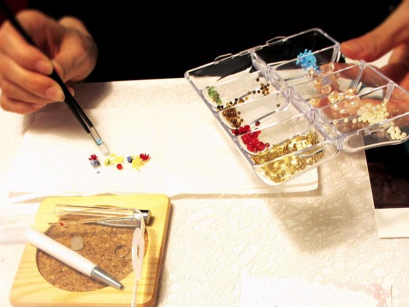ステキ女子必見★オリジナルのハーバリウムボールペンを作りましょう★の画像