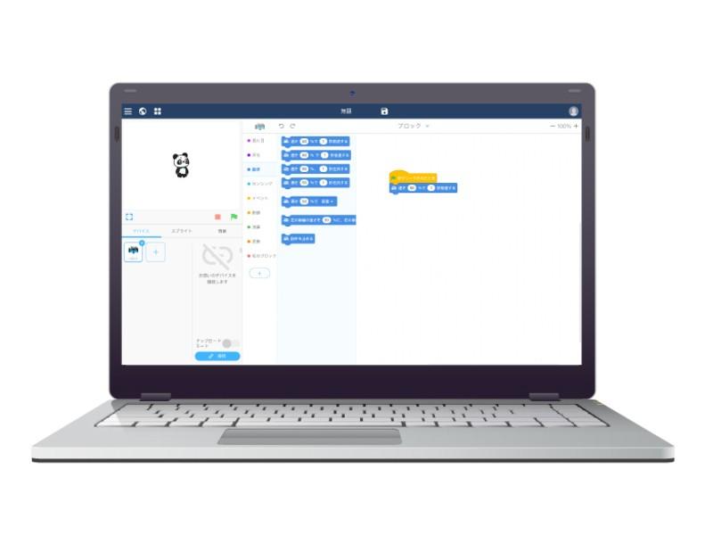 小学生向けのプログラミングロボット講座の画像
