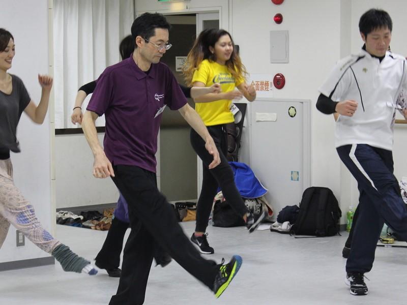 ハウスダンス基礎講座の画像