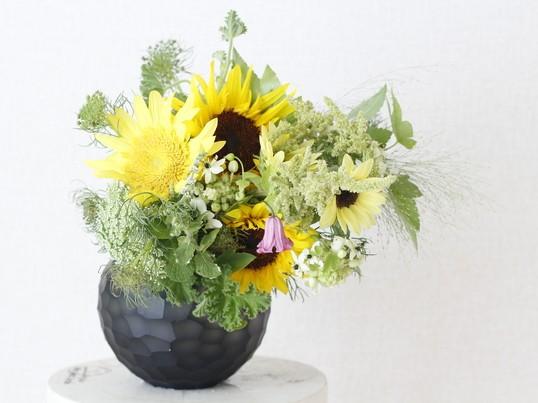 花の飾り方レッスンの画像