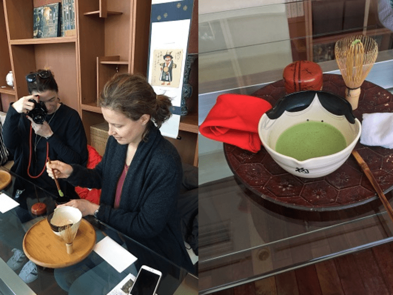 茶道体験講座・ 海老澤宗香 茶道教室「九段教室」の画像