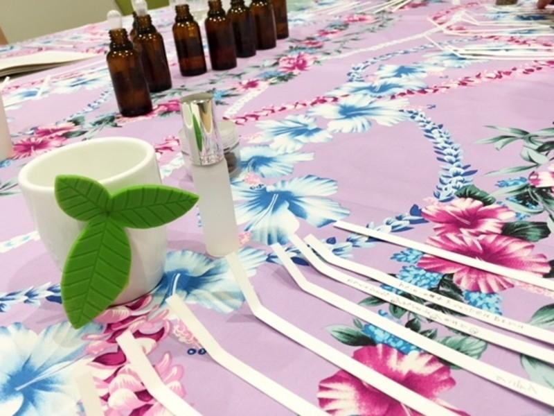 自分だけのハワイの香りをつくる ハワイアンアロマ ワークショップの画像
