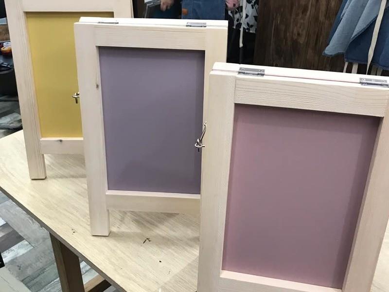 【DIY初心者もOK!】A型ウェルカムボード(塗装込み)の画像