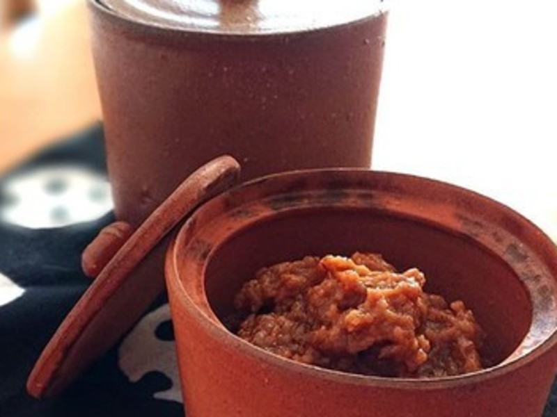 麦味噌作りベーシック講座~極上冷や汁の作り方~ の画像