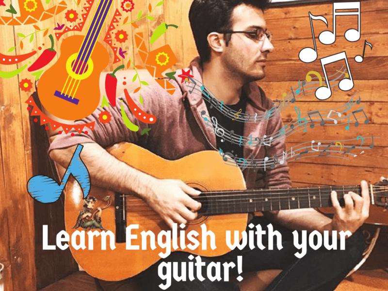 ギターで音感を鍛えながらお子様の英語力を作り上げていきましょう!の画像