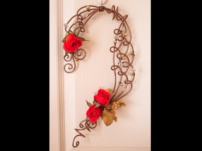 【お花無し】ドアスワッグを作って!飾って! 楽しもう♪の画像