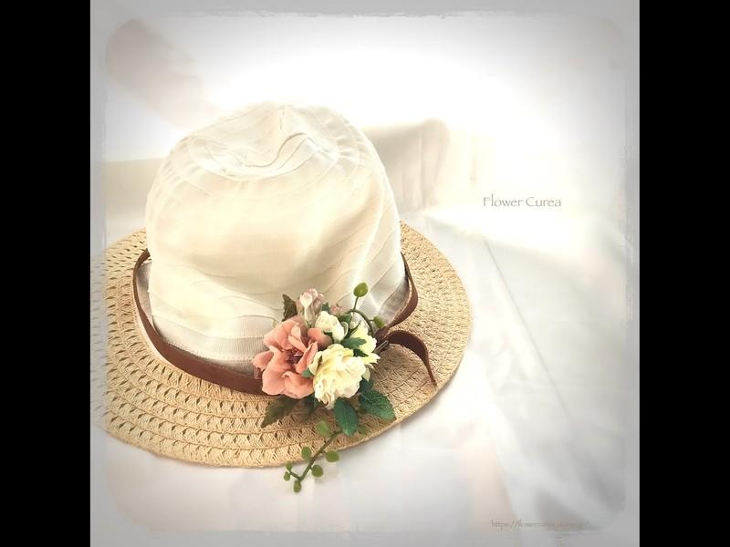 コサージュ作り(2個)/花のアトリエレッスンの画像