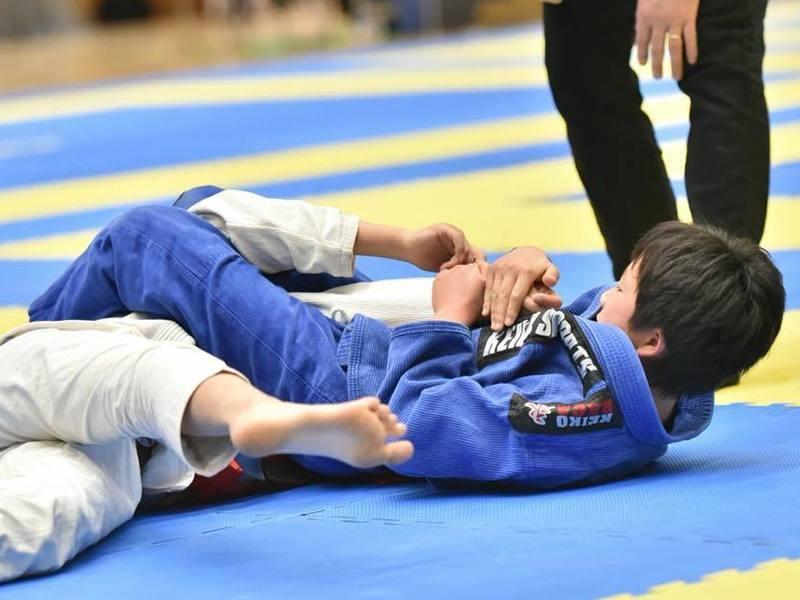 【キッズ対象】初心者向けの柔術体験コース。楽しく格闘技!の画像