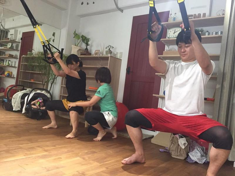 3回で効果実感!お腹に憧れの縦筋!!『TRX体幹トレーニング』の画像