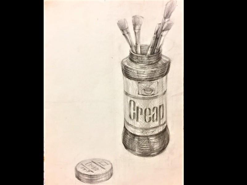 町家で鉛筆デッサンを基礎から学ぶワークショップ体験/1回コース講座の画像
