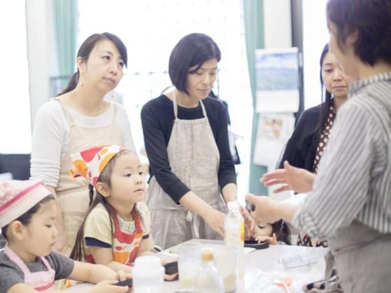 子連れ参加OK! 看護師が教える簡単美味しい米粉のおやつ教室の画像