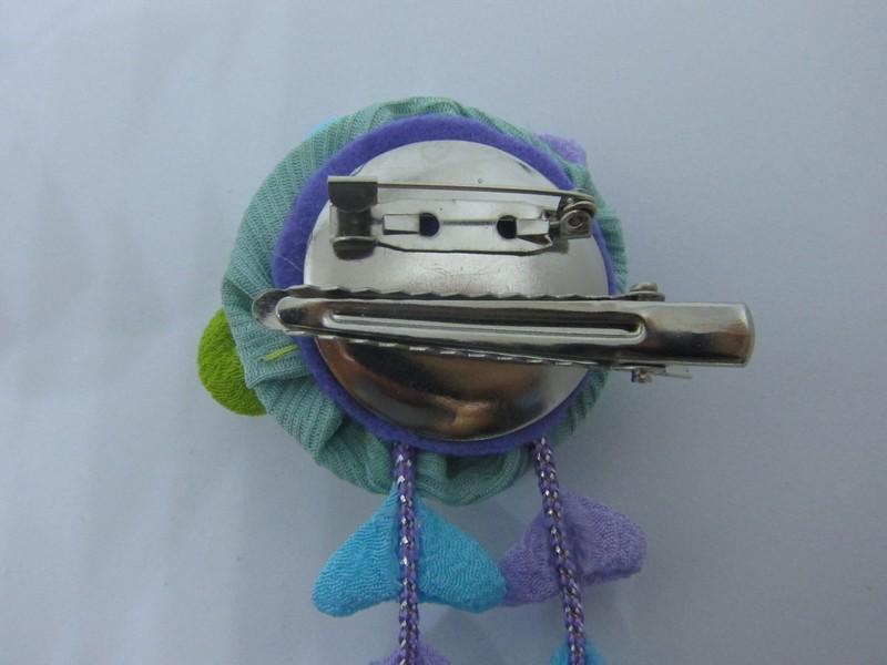 紫陽花のかんざしを作りましょう(ボンドつまみ細工)の画像