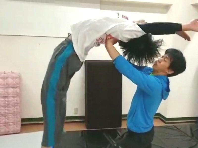 【はじめてのアクロバット】平日夜にバク転・アクロバットを跳ぼう!の画像