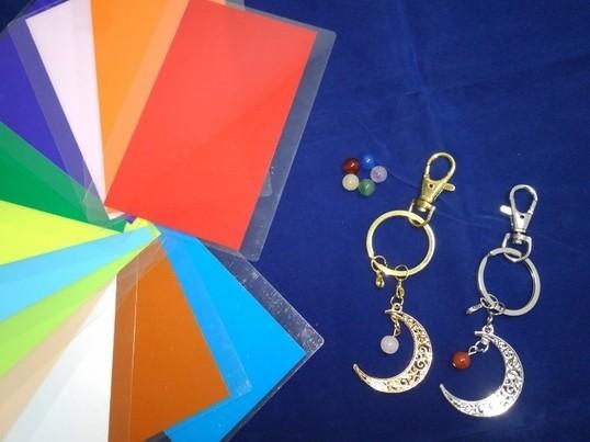 カラーセラピー講座&天然石を使用したキーホルダー作りの画像