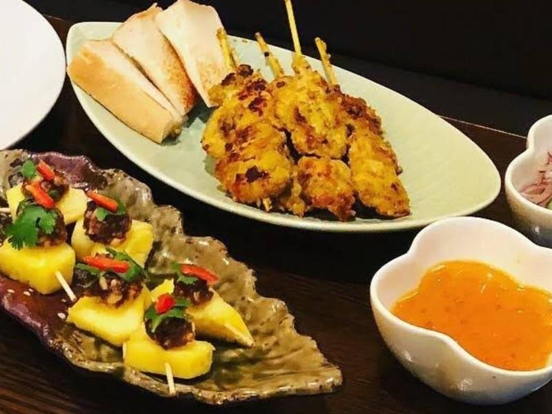 お家でレストラン。パイナップル炒飯の画像