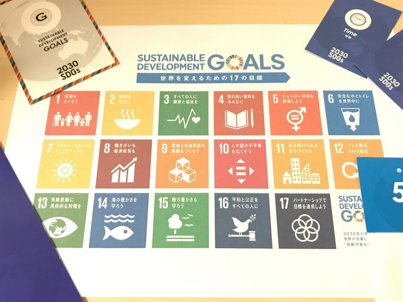 小中学生親子向け2030 SDGsカードゲーム会の画像