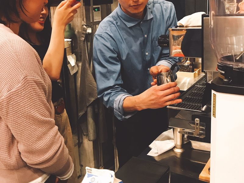 日本茶バリスタ が教える!抹茶ラテアートワークショップの画像