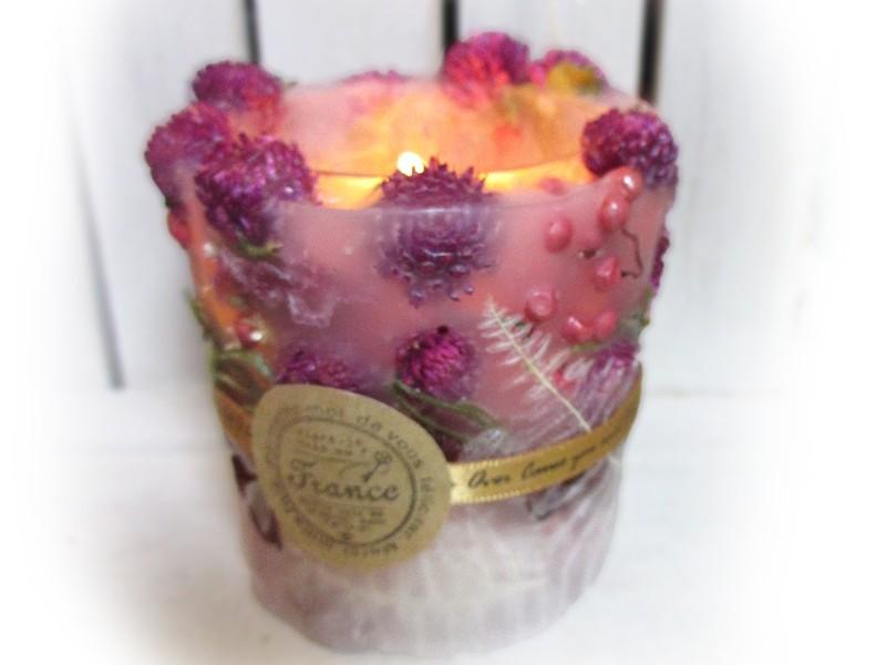 【お試しWS】お花のキャンドルを1つ作るワークショップです♪の画像