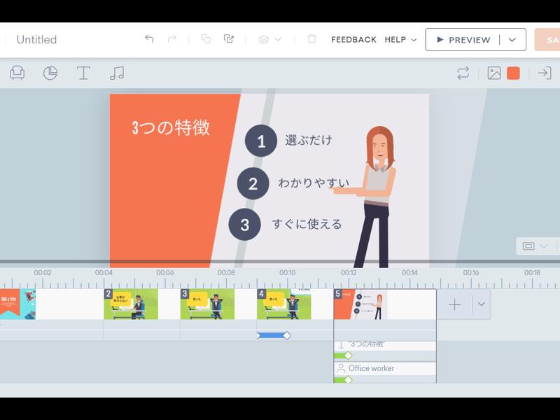 【基礎編】話題沸騰中!お手軽簡単、ビジネスアニメーション作ろう!の画像