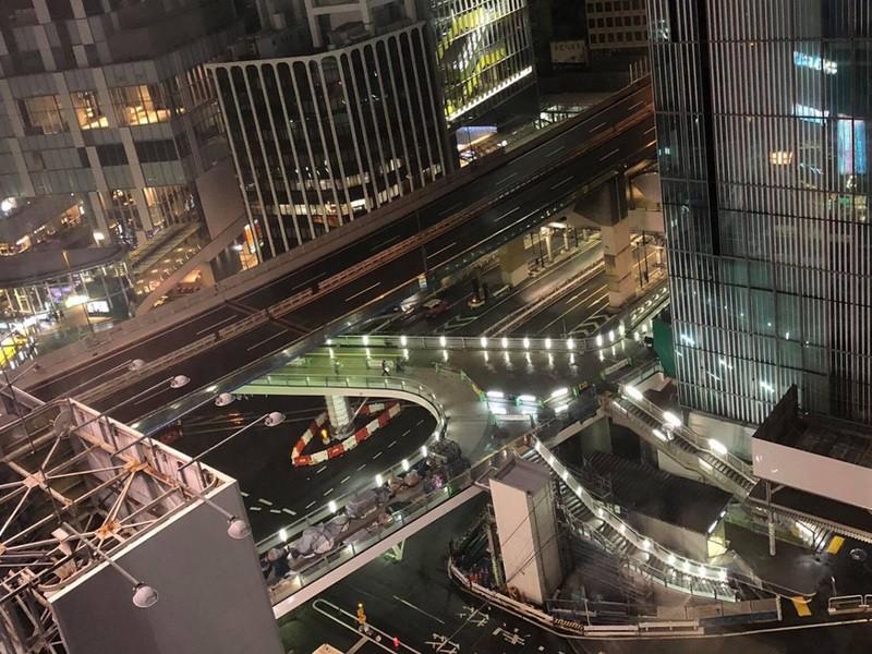 渋谷をみんなで撮ろう!Vol.3 〜フォトジェニックな夜の歩道橋 の画像