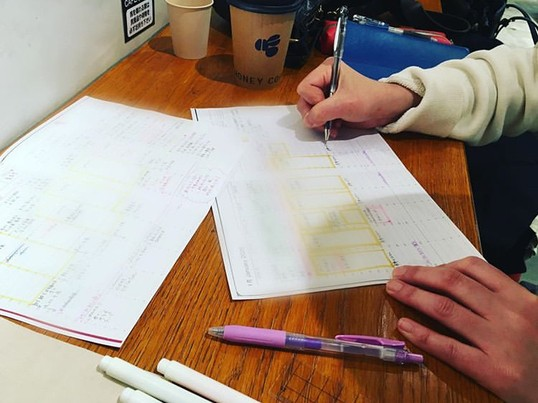 忙しくても理想の毎日は作れる♡仕事も自分の時間も確保できる手帳術の画像
