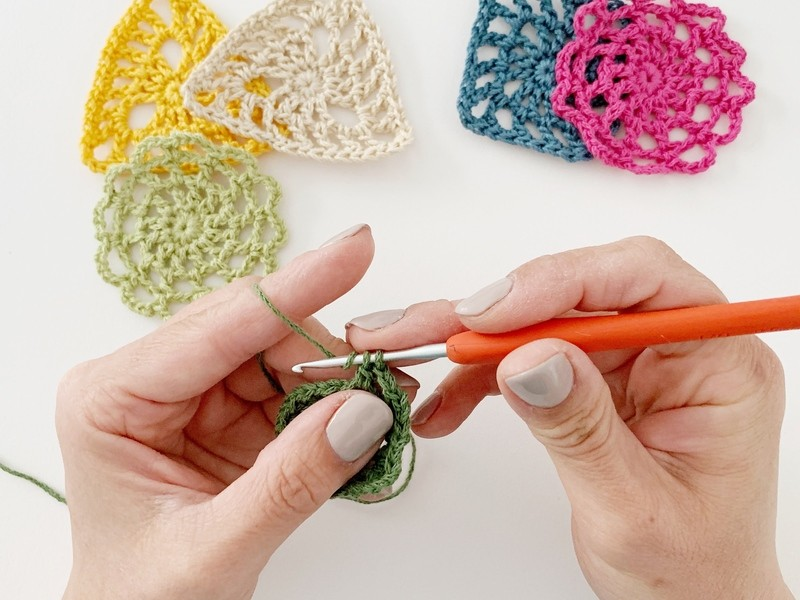 基本の「き」がぎゅぎゅっと詰まった、かぎ針編み「初級継続講座」の画像