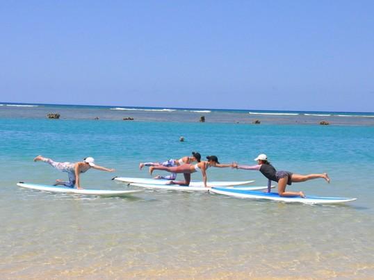 りんくうビーチでSUP YOGA !!の画像